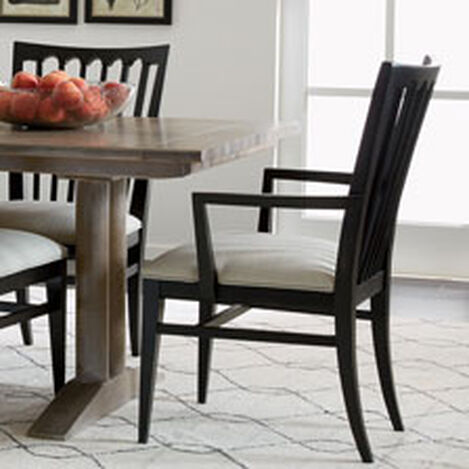 shop arm chairs & host chairs | dining chairs | ethan allen