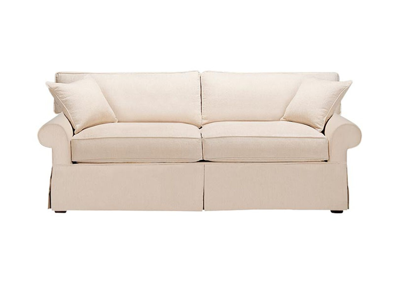 Bennett Slipcovered Sofa , , large_gray - Bennett Slipcovered Sofa Sofas & Loveseats