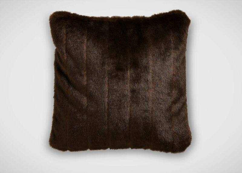 Sable Faux Fur Pillow ,  , large_gray