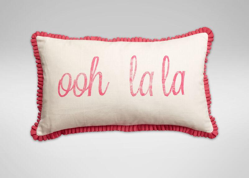 Ooh La La Pillow ,  , large_gray