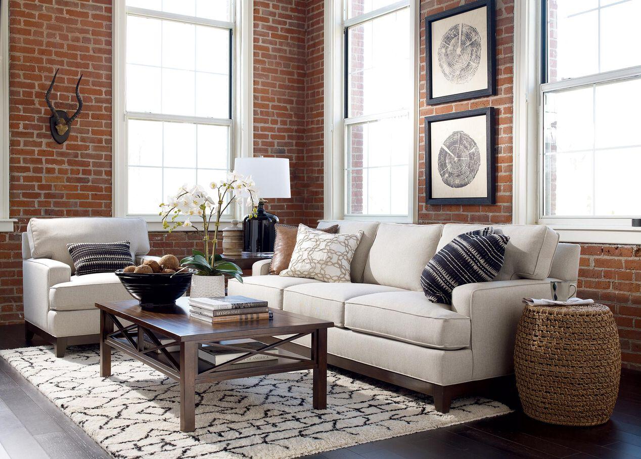 Living Room Furniture Ethan Allen Arcata Chair Chairs Chaises
