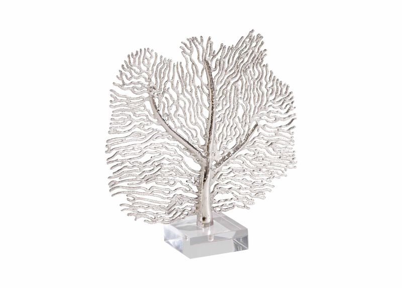 Silver Coral Sculpture ,  , large_gray