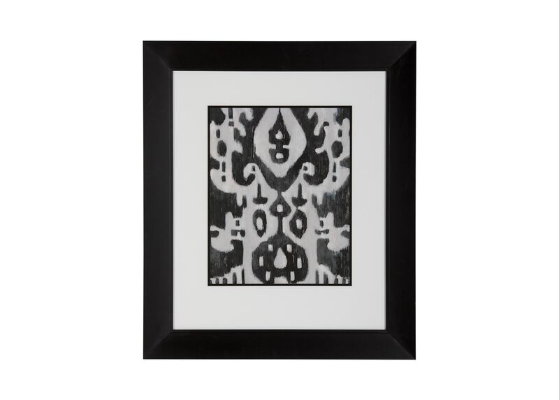 Graphic Ikat IV ,  , large_gray