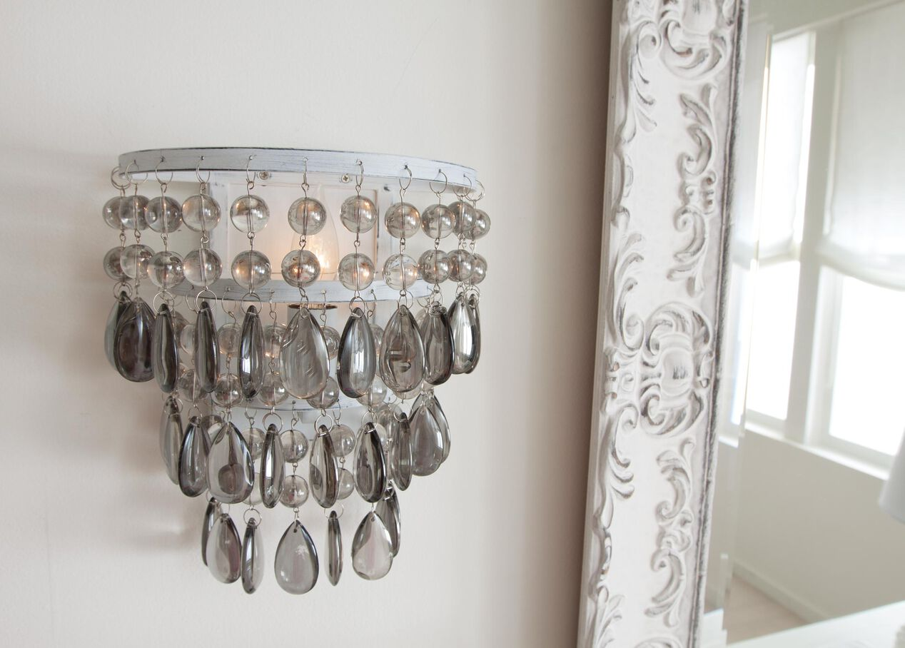 Boho Beaded Wall Sconce sconces