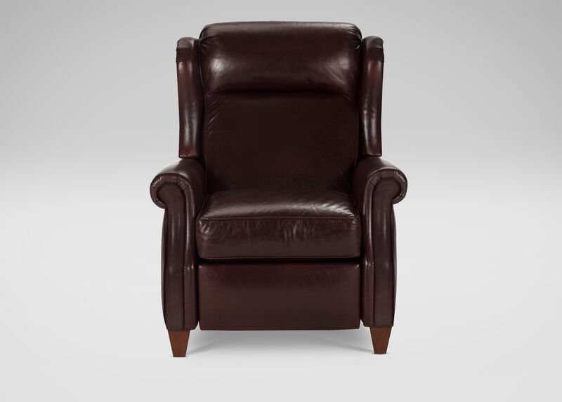 Graham Leather Recliner ,  , large_gray