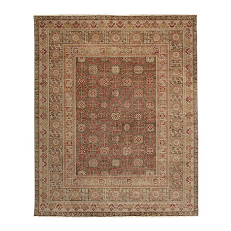 Samarkand Rug, Paprika/Brown ,  , large