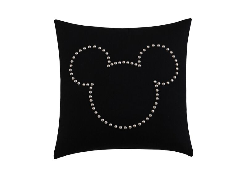 Mickey Mouse Nailhead Pillow ,  , large_gray