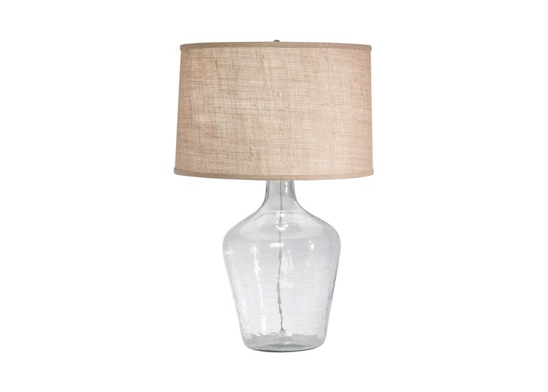 Glass Plum Jar Table Lamp ,  , large_gray