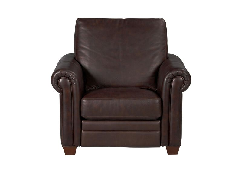Conor Leather Recliner ,  , large_gray