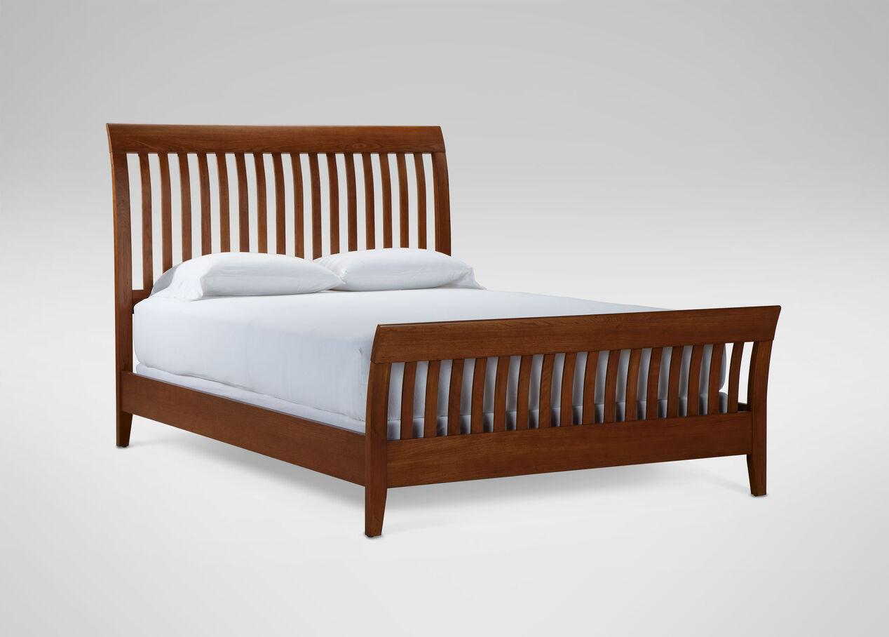 teagan sleigh bed alt - Slay Bed Frame