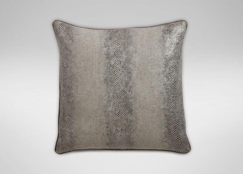 "Lucien 20"" Faux Lizard Pillow ,  , large_gray"