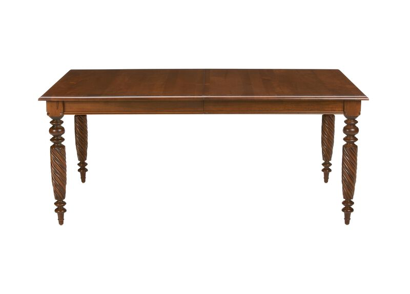 livingston dining table large gray