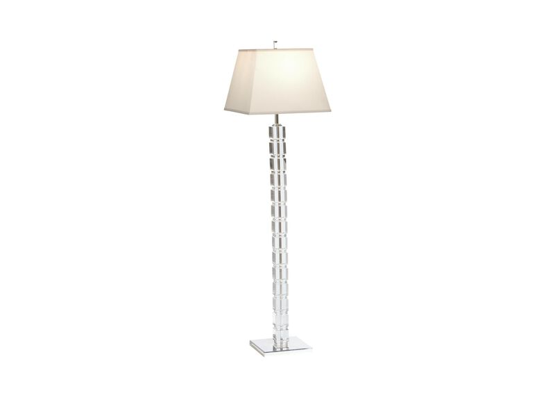 Crystal Blocks Floor Lamp ,  , large_gray