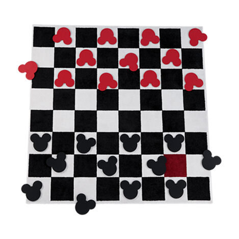 Checkboard Square Rug Set ,  , large