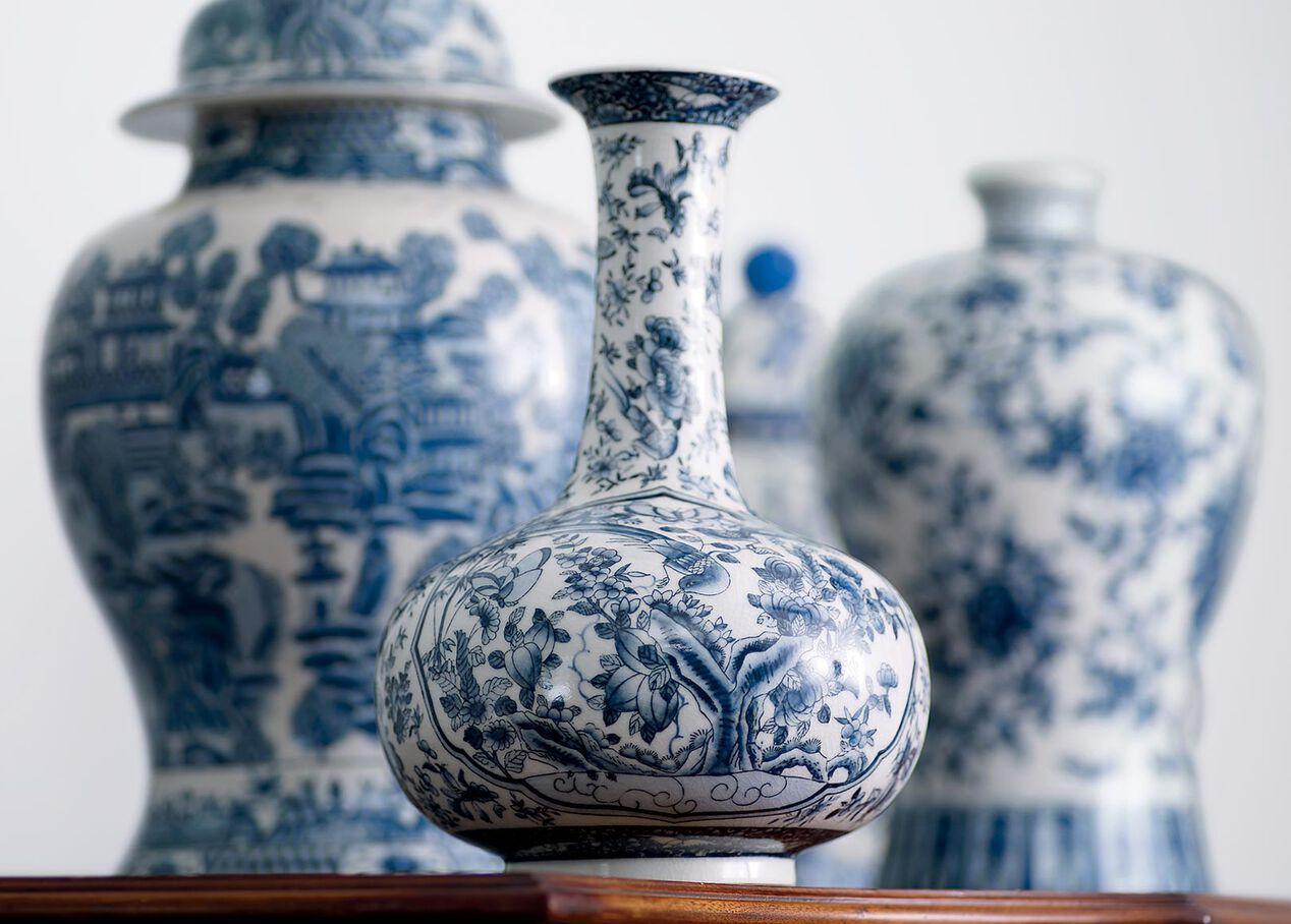 blue and white porcelain vase vases. Black Bedroom Furniture Sets. Home Design Ideas