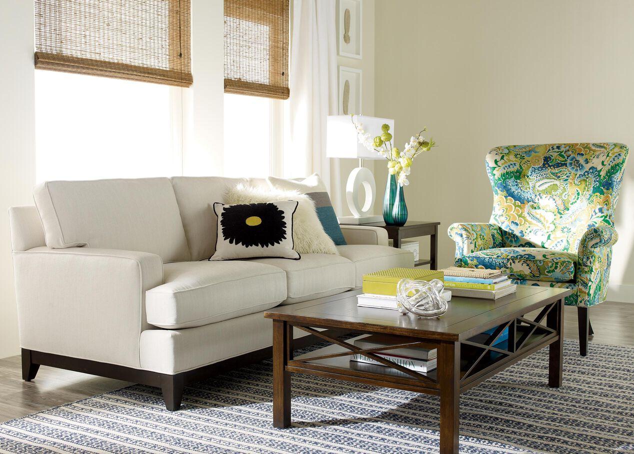 Living Room Furniture Ethan Allen Arcata Sofa Sofas Loveseats