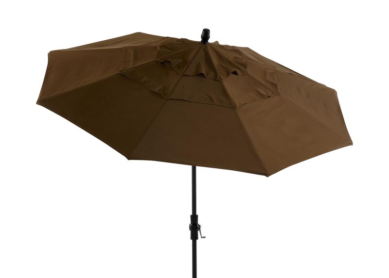 Cocoa Round Market Umbrella ,  , large_gray