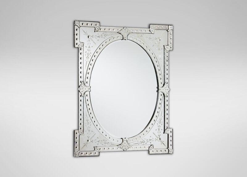 Corner Square Venetian Mirror ,  , large_gray