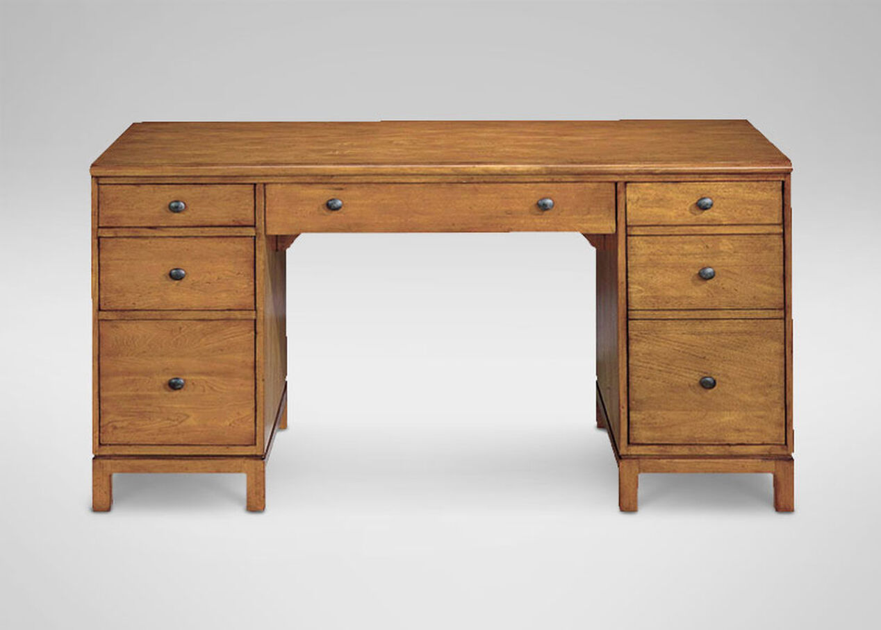 Hawke Double Pedestal Desk Desks
