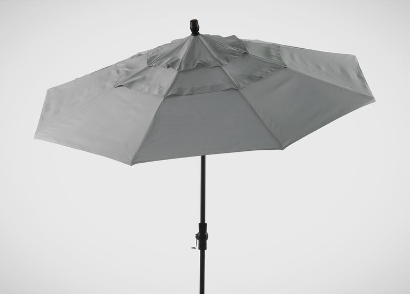 Ash Round Market Umbrella ,  , large_gray