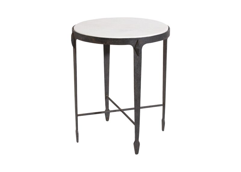 Jaca Marble Top Accent Table ,  , large_gray
