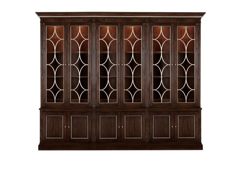 Weston Triple Bookcase ,  , large_gray
