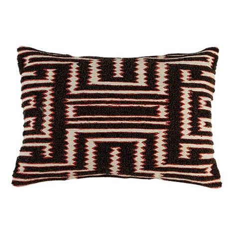 Modern Tribal Bouclé Pillow ,  , large