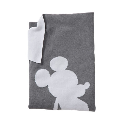 Mr. Mouse Stroller Blanket, Mouse Grey ,  , large