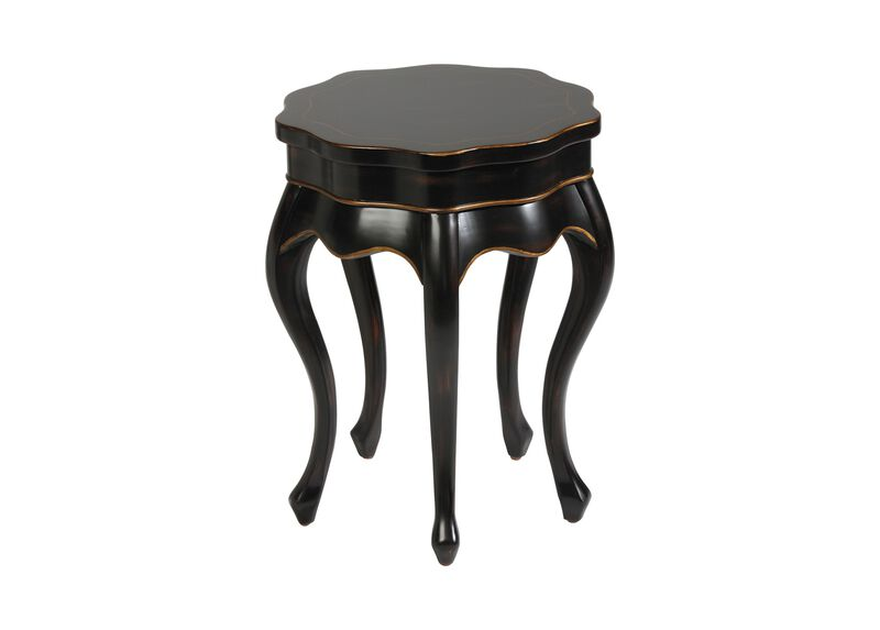 Black Five Leg Table ,  , large_gray
