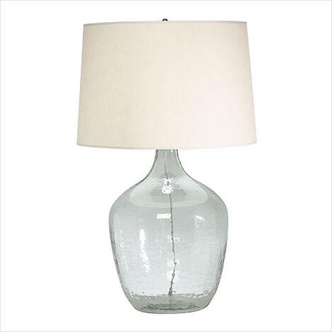 Lampe de table surdimensionnée jarre ,  , large