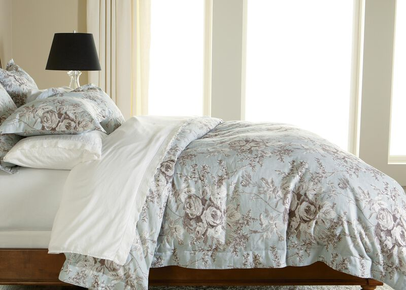Loxley Floral Duvet Cover ,  , large_gray