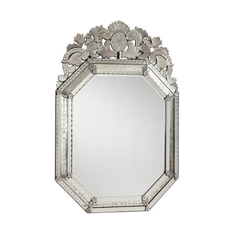 Large Ornate Venetian Mirror ,  , large