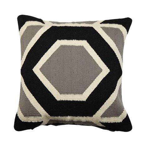 Hexagon Wool Pillow ,  , large