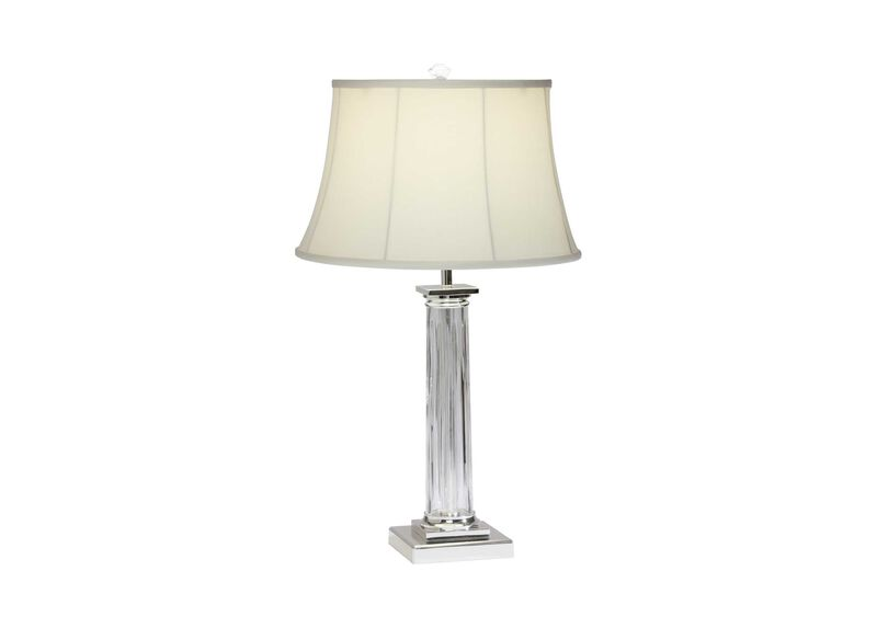 Delancey Crystal Table Lamp ,  , large_gray