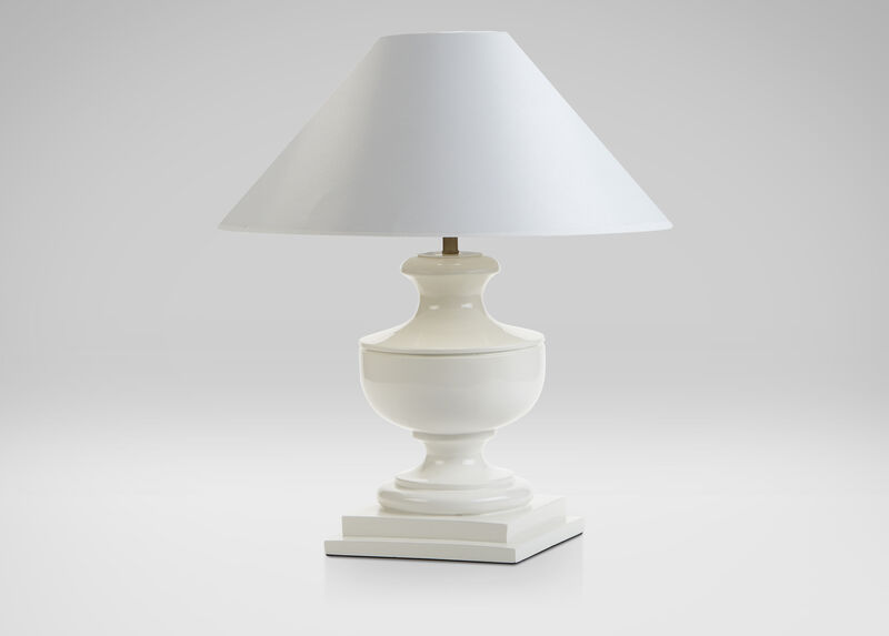 Randyll White Table Lamp ,  , large_gray