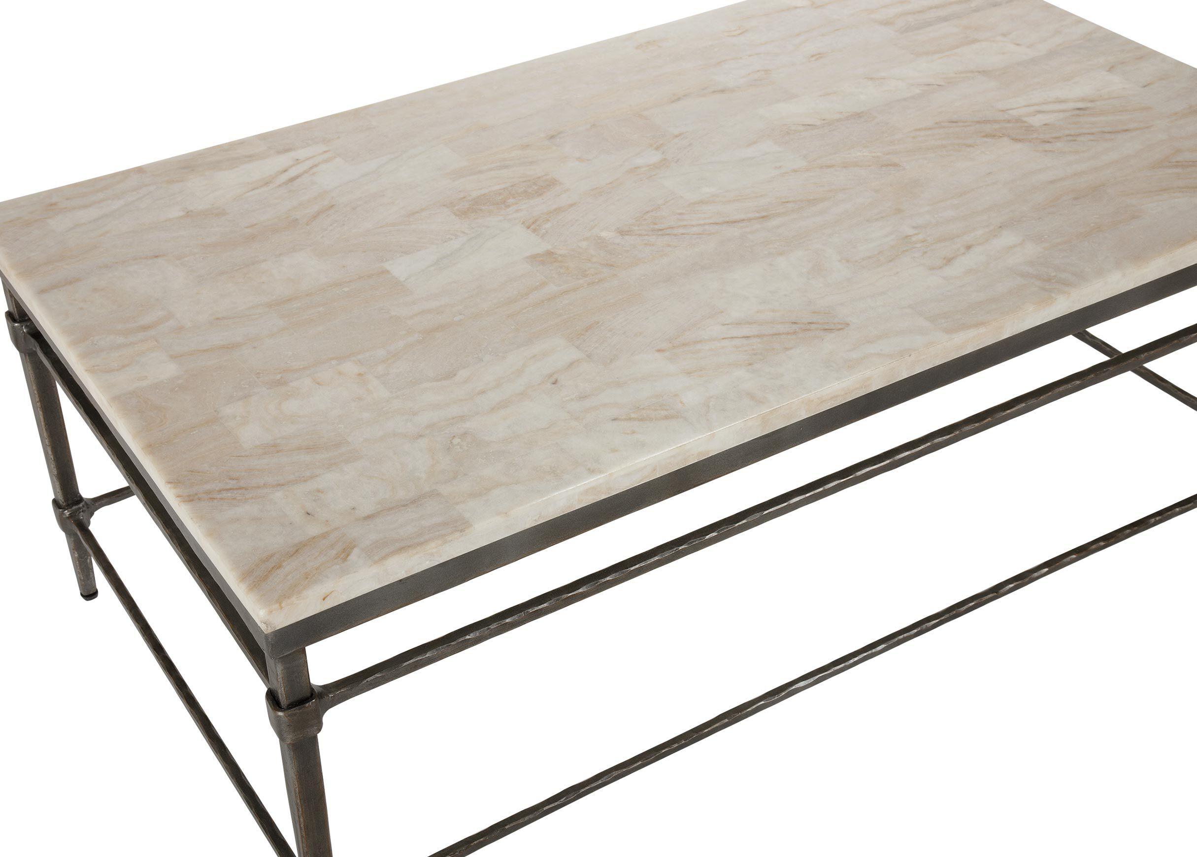 Vida StoneTop Coffee Table Coffee Tables