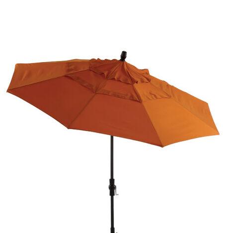 Tuscan Sun Round Market Umbrella ,  , large