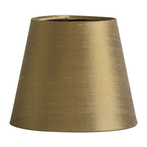 Olive Silk Chandelier Shade ,  , large