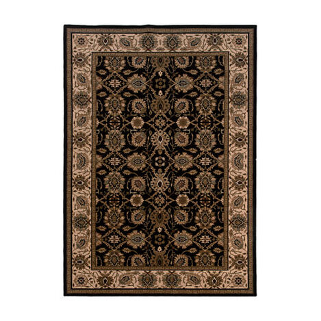 Sultanabad Area Rug, Black/Ivory ,  , large