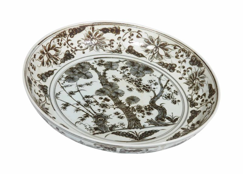 Ming Scenic Low Bowl ,  , large_gray