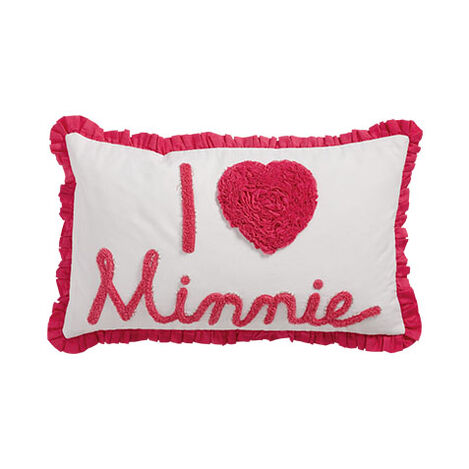 Really Ruffle Minnie Boudoir Pillow, Minnie Pink ,  , large
