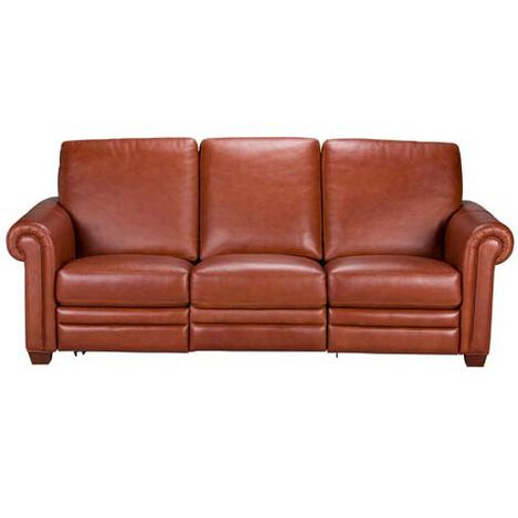 Conor Leather Incliner Large Quick Shop Conor Leather Incliner Living Room Sofas Loveseats