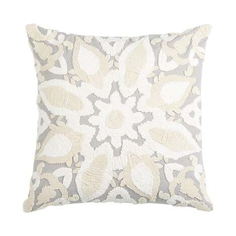 Giorgina Embroidered Medallion Pillow ,  , large