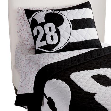28 Varsity Quilt and Sham ,  , large