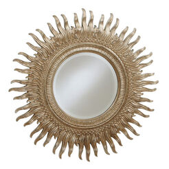 "43"" Silver Sunburst Mirror ,  , large"