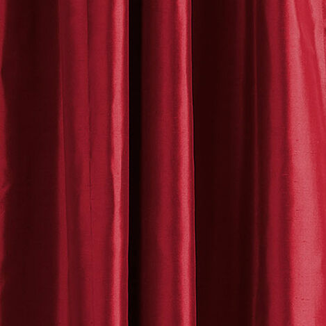 Ruby Satin Dupioni Fabric ,  , large