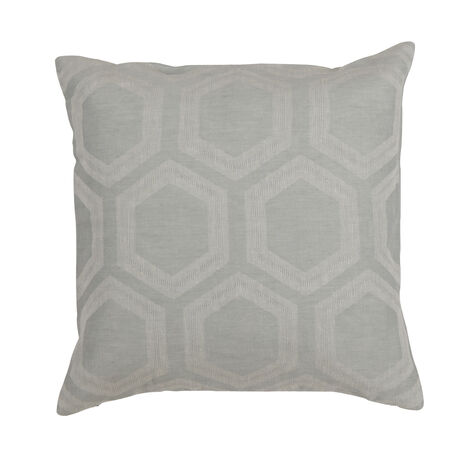 Geometric Linen Pillow, Mineral ,  , large