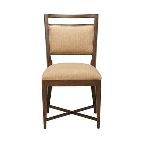 Grady Upholstered Back Side Chair , , large - Shop Side Chairs Dining Chairs Ethan Allen