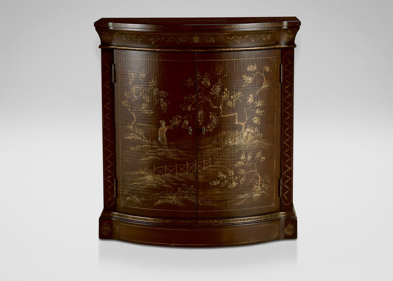 Ruby Chinoiserie Cabinet ,  , large_gray