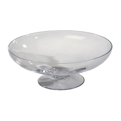 Footed Glass Bowl ,  , large